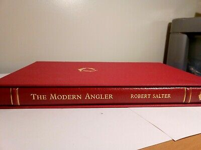 Very Rare (150)1995 The Modern Angler by R Salter - Flyfisher's Classic Library