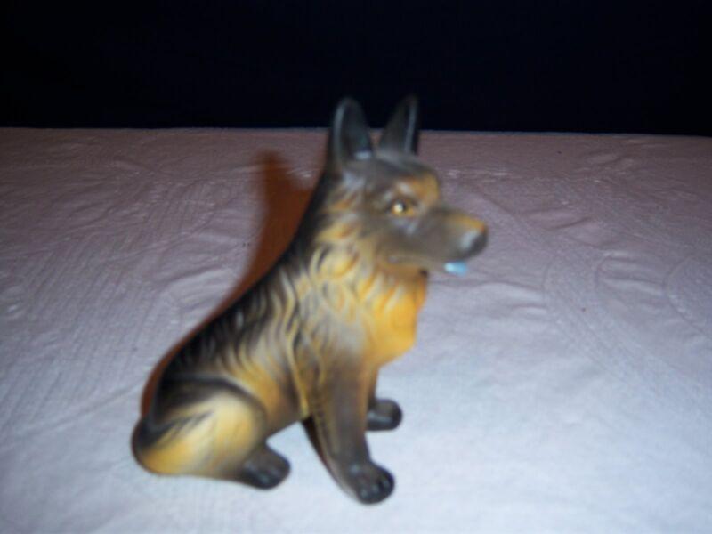 Vintage German Shepherd Figurine