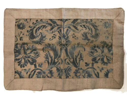Antique Fortuny Pillowcase