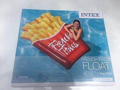 Food Pool Floats (Intex French Fries Swimming Pool Beach & Lake Food)