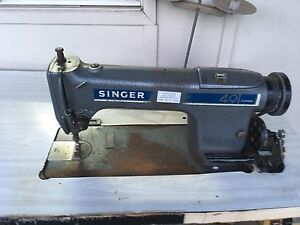 Industrial singer 491 sewing machine Currumbin Gold Coast South Preview