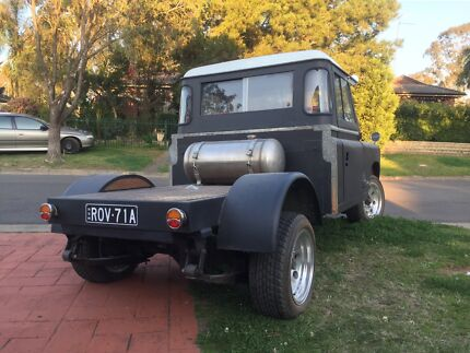 Land Rover v8 AUTO hot rod rat rod WAS REGISTERED AS IT IS IN NSW St Marys Break ODay Area Preview