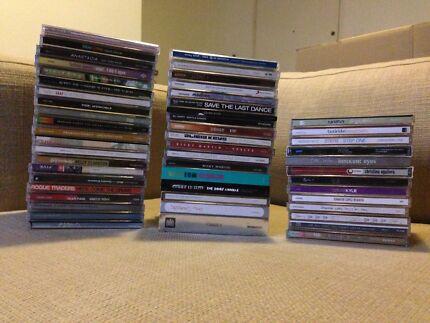 CD Assortment - $5 Albums & $2 Singles