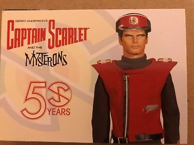 CAPTAIN SCARLET AND THE MYSTERONS 50 YEARS: BASE SET - ALL 36 CARDS