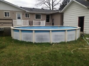 24ft pool and all accessories
