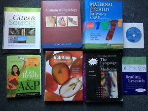 Nursing Textbooks- RPN Fanshawe Program