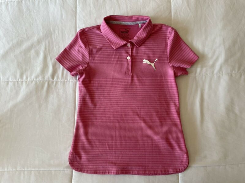 Puma Girls Golf Shirt Medium 6-7