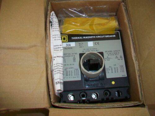 Square D Circuit Breaker FAL34030  30AMP  3P  NEW IN BOX