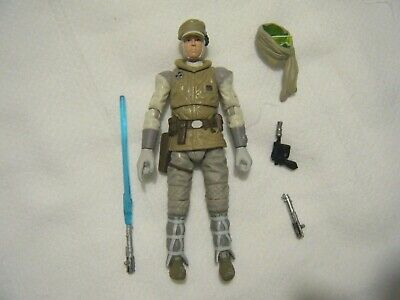 "STAR WARS 3.75"" Black Series LUKE SKYWALKER HOTH #02 Complete 2014 Mint RARE!"