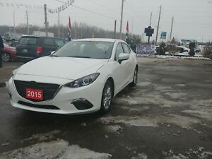 2015 Mazda 3 GS LOW KM !!CERTIFIED!!WARRANTY!!WINTER TIRES!!