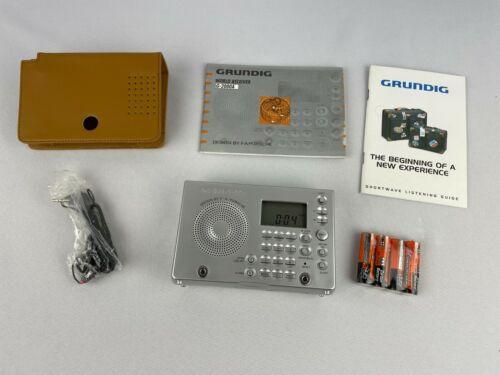 Grundig YB-P 2000 World Receiver AM FM Shortwave Radio Porsche w Case Manual