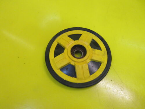 SKIDOO SKI DOO 180MM REAR AXLE TRACK WHEEL IDLER GUIDE BOGIE BOGEE YELLOW