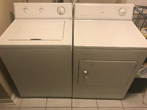 Used Frigidaire - Full Size Washer and Dryer