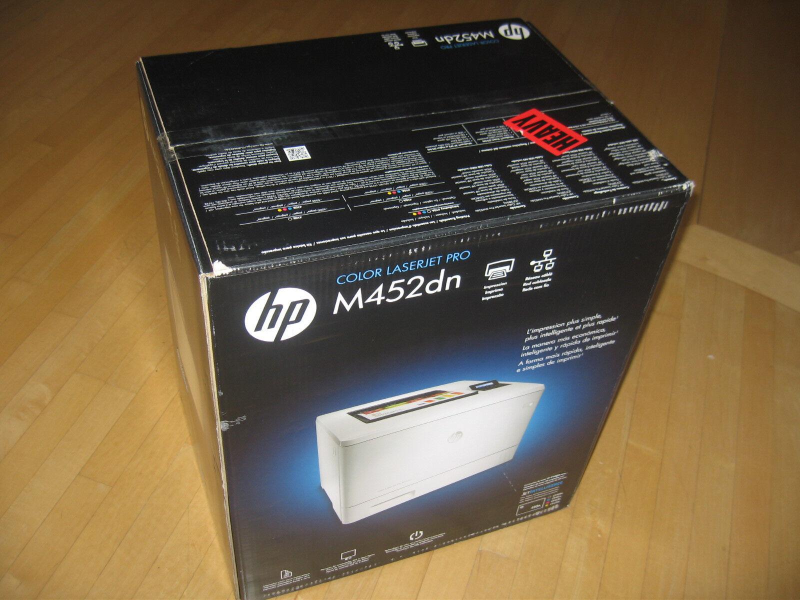 HP LaserJet Pro M452dn Laser Printer - Color - 600 x 600 dpi