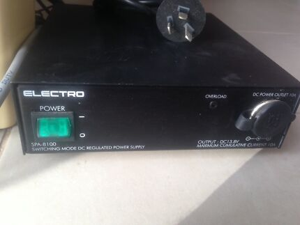 12 Volt DC Power Supply