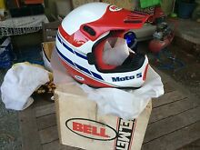 Bell Moto 5 1980s MX Helmet as new in box!! Hallett Cove Marion Area Preview