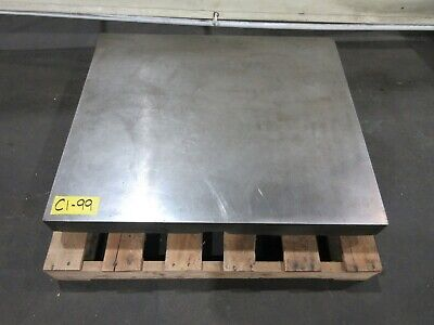 29-12 X 34-12 Cast Iron Fixture Layout Plate For Metalworking