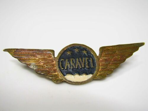Caravel Wings Pin Aviation Collectible