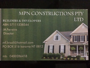 Build your dream home with MPN Constructions! Rosebery Palmerston Area Preview