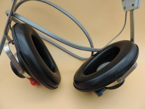 Vintage Telephonics TDH-39 Audiometric Hearing Headphone Headset