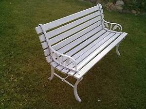 TIMBER AND IRON GARDEN BENCH SEATS (AND MORE) Thornton Maitland Area Preview