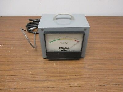 Labconco Analog Micron Hg Vacuum Gauge Model 75800-00