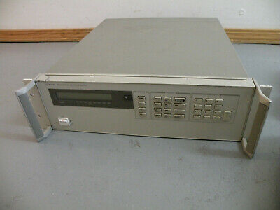 Agilent Hp Dual Output Power Supply 6622a 0-20v4a - 0-50v2a Tested Working