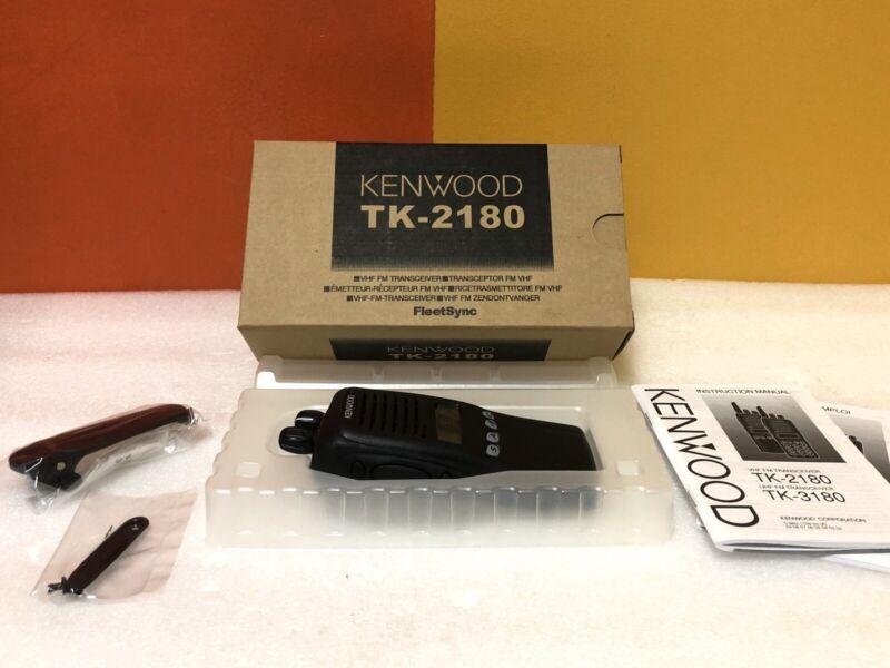 Kenwood TK-2180 VHF FM Portable Radio Transceiver. New in Box!