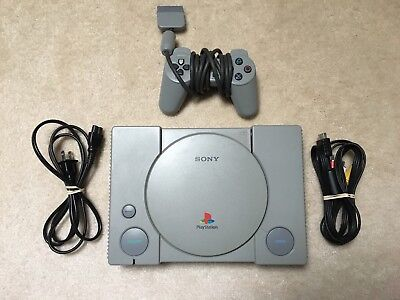 Sony PlayStation Launch Edition Gray Console (SCPH-7001)
