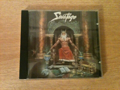 Savatage - Hall Of The Mountain King - CD 1987 - 1 Press / TOP - ZUSTAND !!! ()