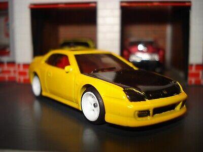 1998 98 HONDA PRELUDE CUSTOM EDITION SPORTS CAR 1/64 HW  WHEELS AND RIMS ADDED