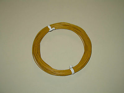 28 Awg Stranded Yellow Hook-up Wire Cable 10m 32.8ft Flexible Us Seller.