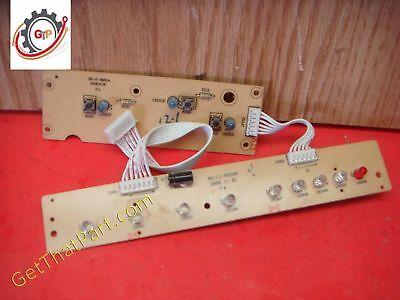 Staples Spl-tmc16a Paper Shredder Control Panel Indicator Switch Bd