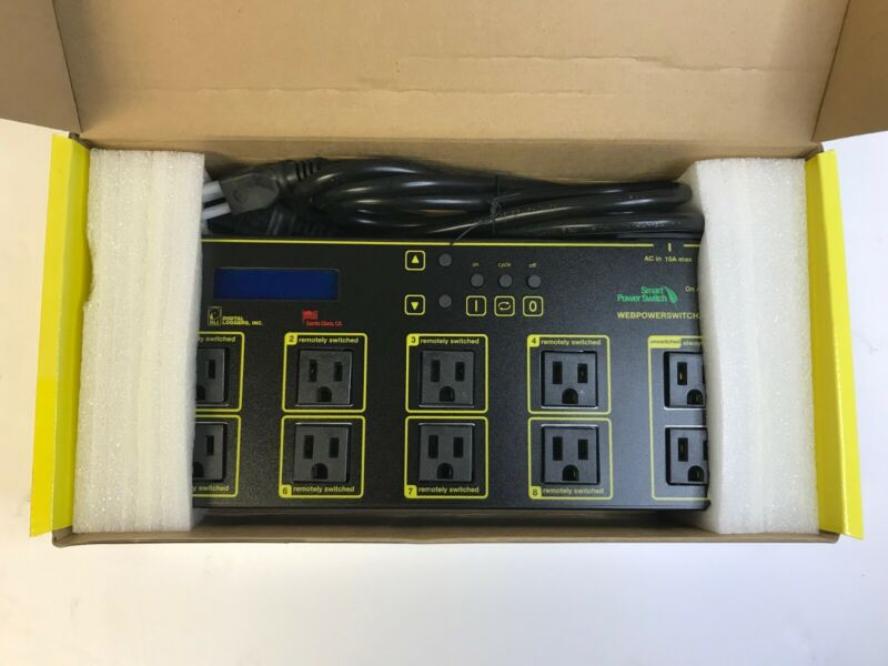 DLI-PRO 8+2 Web Power Switch Remote Power Controller Reboot NEW