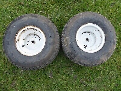 MTD Rear Wheels Pair 18x9.50-8 For Ride On Lawnmower Garden Tractor