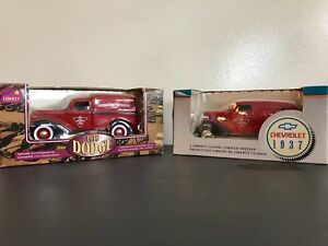 CANADIAN TIRE COLLECTOR TRUCKS in original packaging