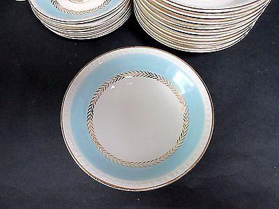"Set of 10 Homer Laughlin Georgian Eggshell 5 1/2"" Berry Bowls # 41 N5"