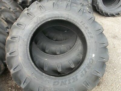 2-tires 13.6x2813.6-28 12 Ply Tractor Tires Wtubes Made In India