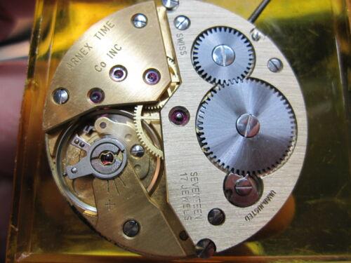 genuine Swiss Unitas Cal 6498 hunter pocket watch movement running
