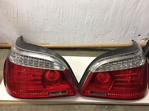 Bmw 5 series E60 tail lights.