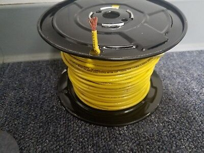 25 Thhn 10 Awg Gauge Yellow Nylon Stranded Copper Building Wire