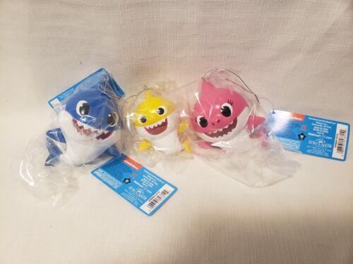 Kurt Adler 3 Piece Baby Shark Ornaments - New