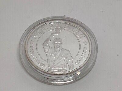 1993 Liberian 1 Dollar Commemorative Coin Nolan Ryan Seven Career No-hitters