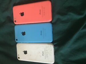 All 3 iPhone 5c's for $50 needs repair