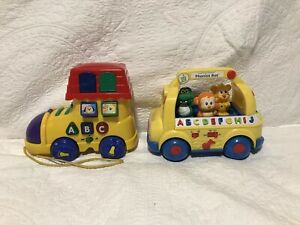 Musical Activity Toys: Phonics Bus and Megcos Activity Boot