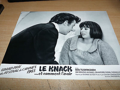 RITA TUSHINGHAM RAY BROOKS MICHAEL CRAWFORD - THE KNACK - 1965 CANNES PHOTO