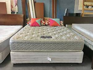 DELIVERY TODAY COMFORT Queen Ensemble bed & TOP PILLOW mattress Belmont Belmont Area Preview