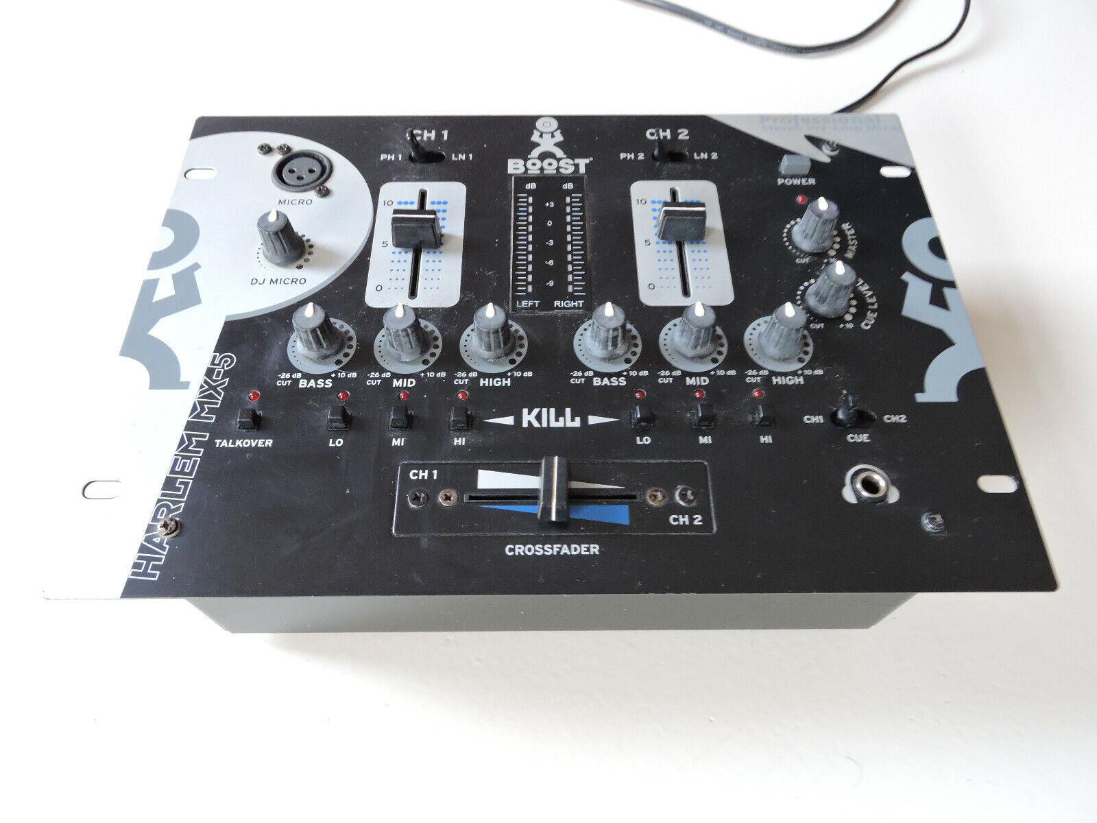 Table de mixage boost harlem mx-5