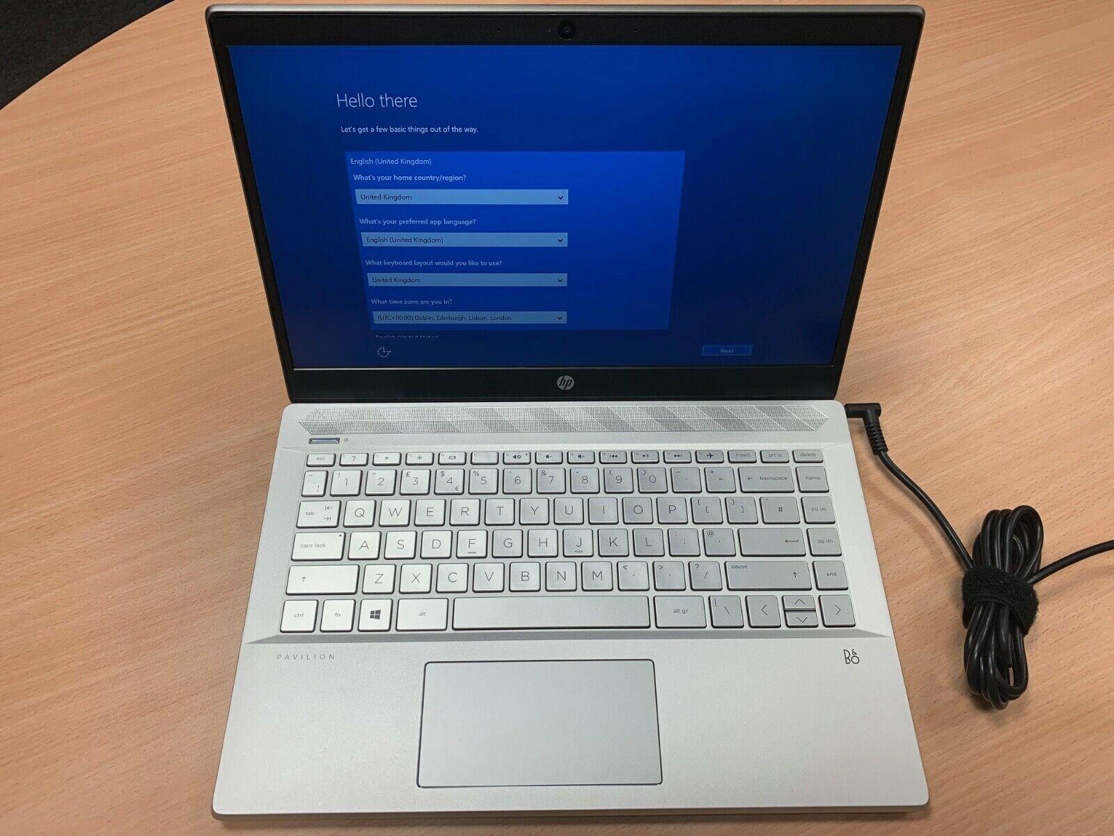 "Laptop Windows - HP Pavilion 14-CE0518SA 14"" Laptop Intel I3-8130U 2.2GHz 4GB 128 SSD Windows 10"