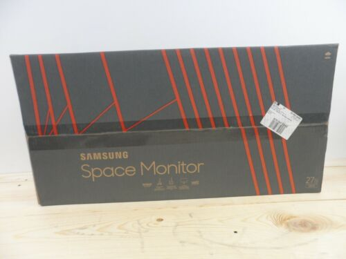"""Samsung 27"""" LCD QHD Space Monitor Black S27R750Q"""
